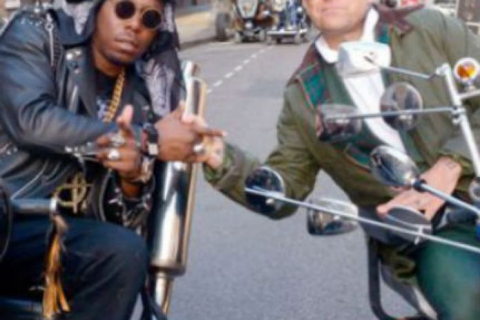 Dizzee Rascal featuring Robbie Williams - Goin' Crazy