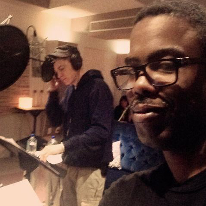 Eminem Hits the Studio with Chris Rock?