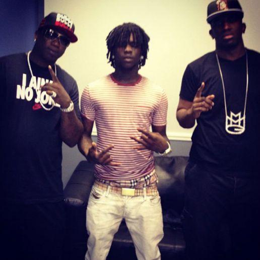 Gucci Mane featuring Chief Keef  - Darker
