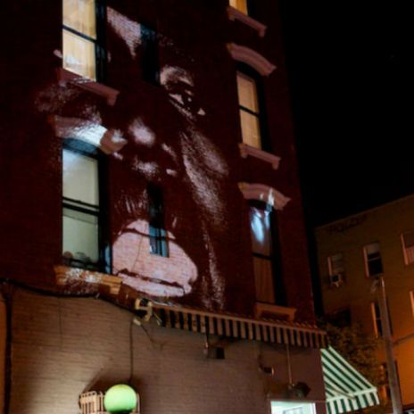 "Houston Police Shut Down Kanye West's ""New Slaves"" Projection"