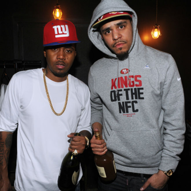 J. Cole Disappointed Nas According to Peter Rosenberg