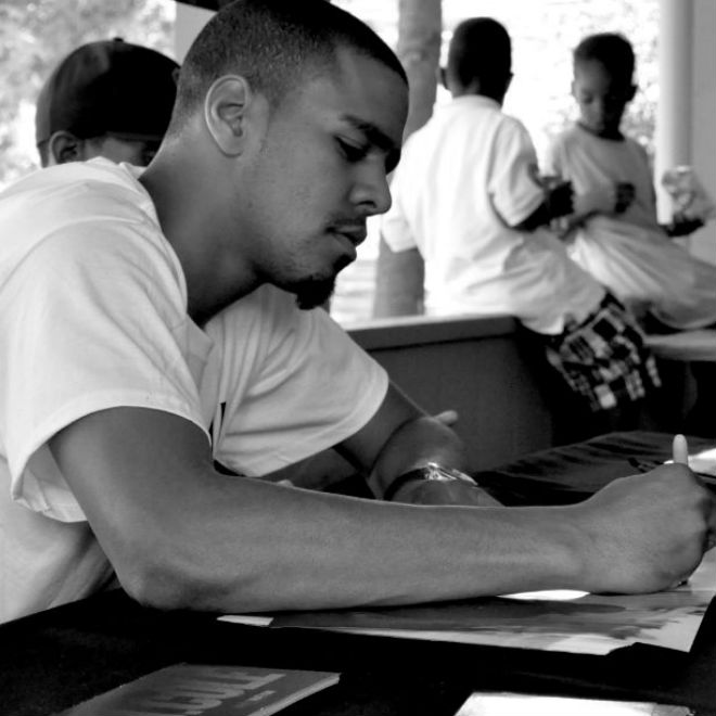 J. Cole Explains Evolution of Writing Process & More