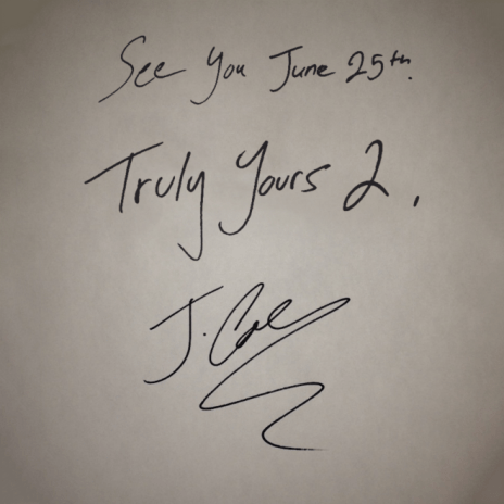 J. Cole - Truly Yours 2 EP