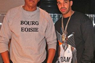 Jay-Z In The Studio With Drake