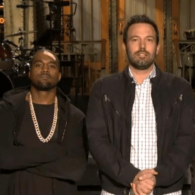Kanye West & Ben Affleck - Saturday Night Live (Promo)