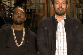 Kanye West & Ben Affleck - Saturday Night Live (Promo)