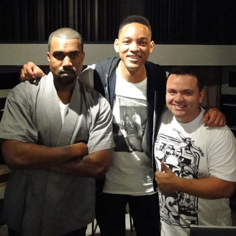Will Smith Discusses Studio Time Spent with Kanye West