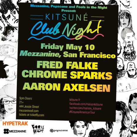 'Kitsuné Club Night' Spring Tour Arrives in San Francisco