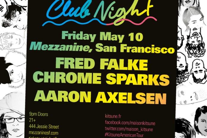 'Kitsuné Club Night' Spring Tour Arrives in San Francisco