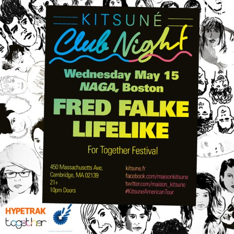 'Kitsuné Club Night' Spring Tour Arrives in Boston