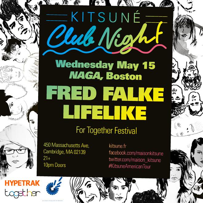 'Kitsuné Club Night' Spring Tour Arrives in Boston