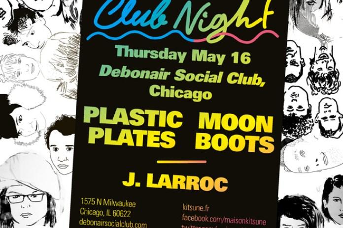 'Kitsuné Club Night' Spring Tour Arrives in Chicago, Photo Recap of Mexico City Edition