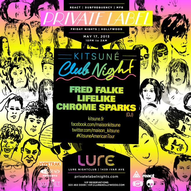Kitsuné Club Night' Spring Tour Arrives in Los Angeles