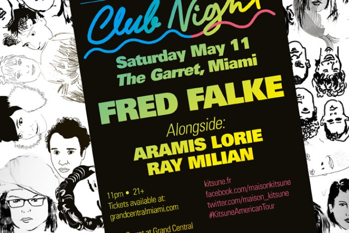 'Kitsuné Club Night' Spring Tour Arrives in Miami