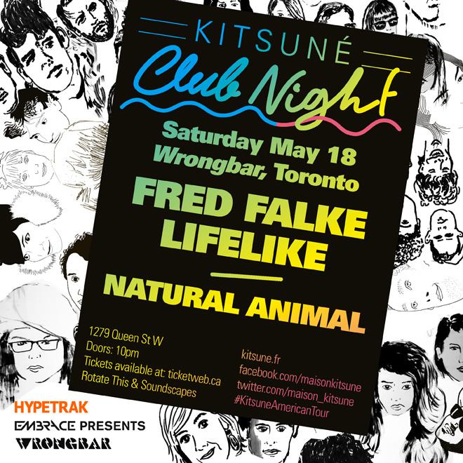 'Kitsuné Club Night' Spring Tour Arrives in Toronto