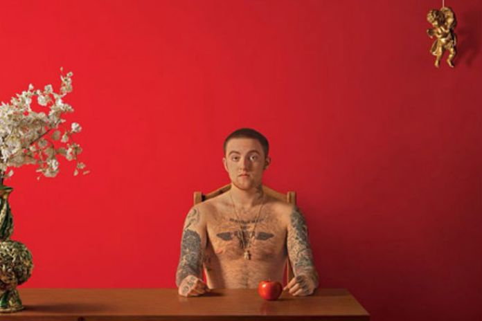 Mac Miller Unveils the Cover for 'Watching Movies With Sound Off'