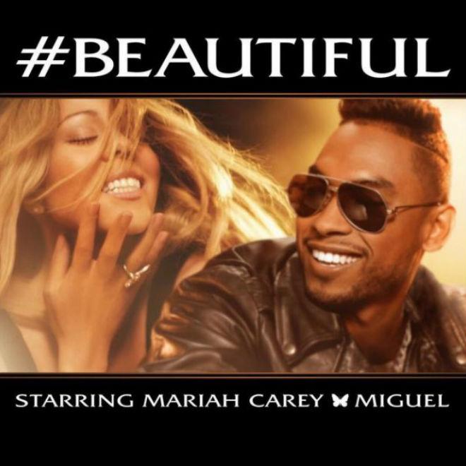 Mariah Carey featuring Miguel - #Beautiful