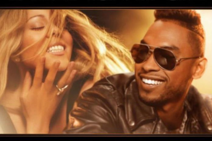 Mariah Carey featuring Miguel - #Beautiful