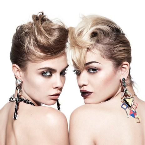Rita Ora & Cara Delevingne - Facemelt (Remix)