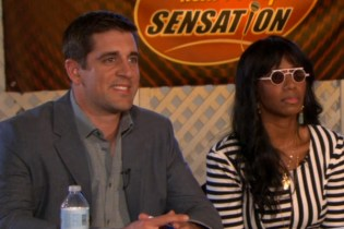 Santigold Appears on 'The Office' with Aaron Rodgers and Clay Aiken
