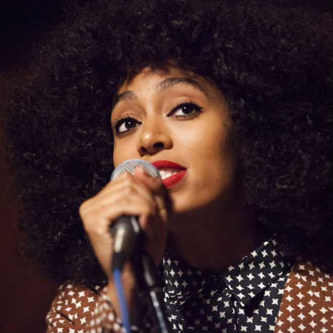 Solange Knowles featuring Kendrick Lamar - Looks Good with Trouble