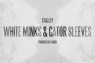 Stalley - White Minks & Gator Sleeves