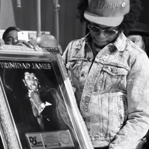 "Trinidad Jame$ Receives Gold Plaque for ""All Gold Everything"""