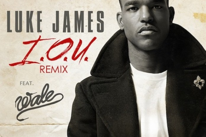 Luke James featuring Wale – I.O.U. (Remix)