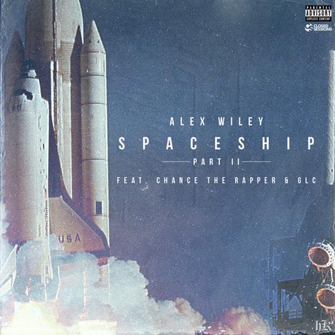 Alex Wiley featuring Chance The Rapper & GLC – Spaceship II