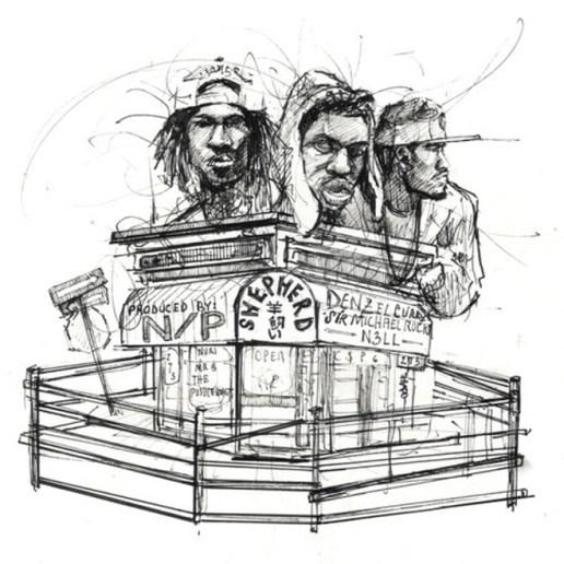 Denzel Curry & Nell featuring Sir Michael Rocks – Shepherd