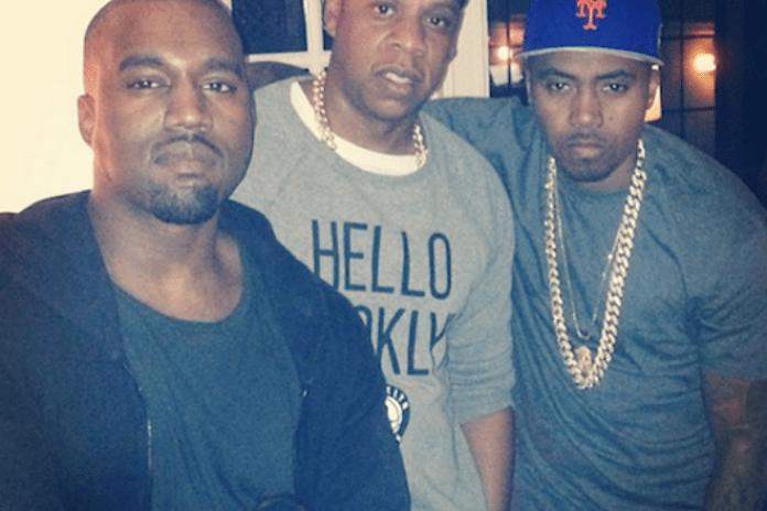 Nas, Jay-Z, & Kanye West Celebrate Kanye's Birthday