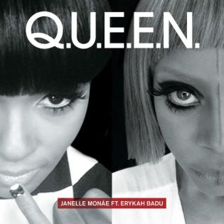 Janelle Monae featuring Erykah Badu - Q.U.E.E.N. (Prince Remix)