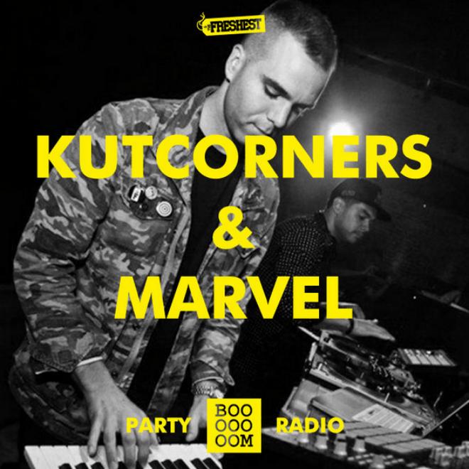 Kutcorners & Marvel Mix for Booooooom Party Radio