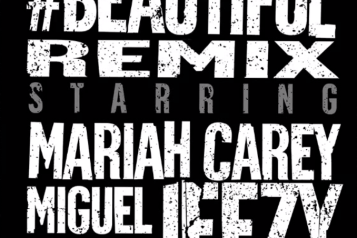 Mariah Carey featuring Miguel & Young Jeezy - #Beautiful (Remix)