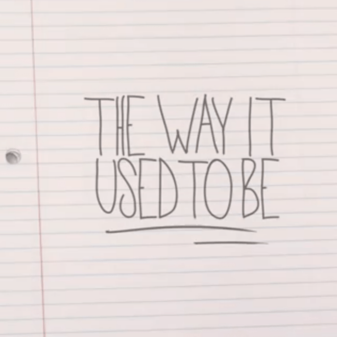 Mike Posner - The Way It Used To Be (Official Lyric Video)