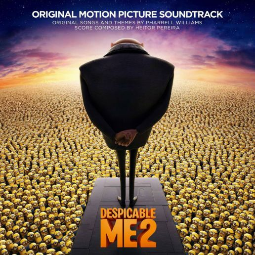 Pharrell Williams - Happy (Despicable Me 2 - Lyric Video)