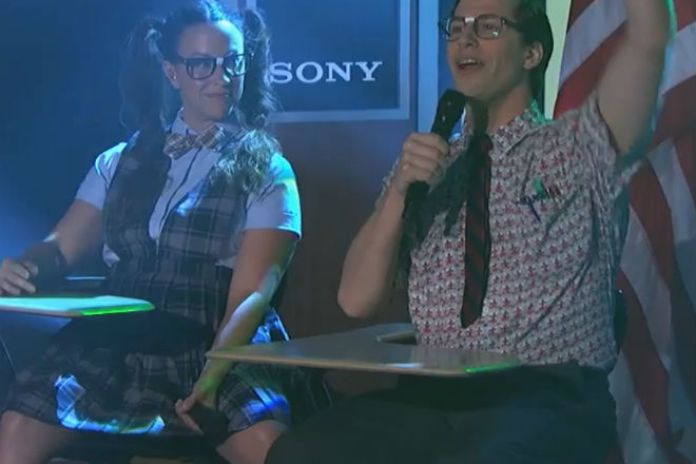 The Lonely Island featuring Alanis Morissette - Semicolon (Jimmy Kimmel Live)