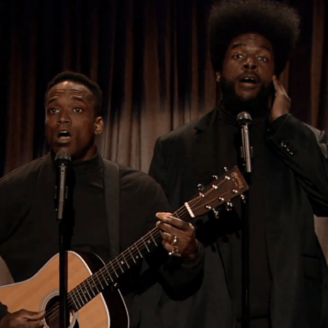 "Watch The Roots Covering Daft Punk's ""Get Lucky"" and Rapping Over 'Super Mario Bros.' Theme"