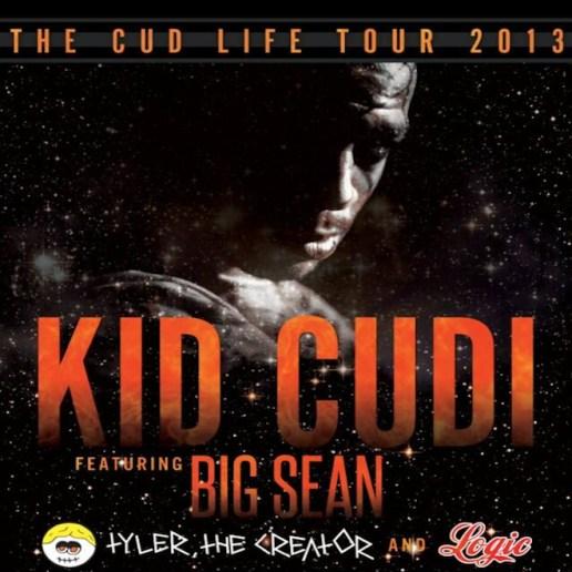 KiD CuDi Announces Fall Tour with Big Sean, Tyler, the Creator & Logic