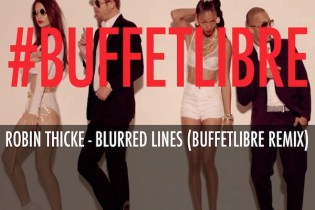 Robin Thicke - Blurred Lines (Buffetlibre Remix)