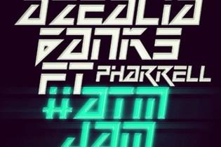 Azealia Banks featuring Pharrell - #ATMJAM (Full Song)