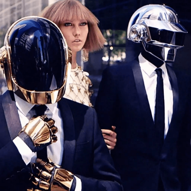 Behind the Scenes with Daft Punk and Karlie Kloss for Vogue