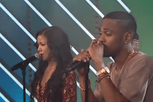 "Big Sean & Jhené Aiko Perform ""Beware"" on The Hustle After Party"