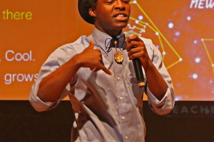 "Check Out Science Genius B.A.T.T.L.E.S Winner Jabari Johnson Rapping About Kinetic Energy Over Lupe Fiasco's ""Kick, Push"" Instrumental"