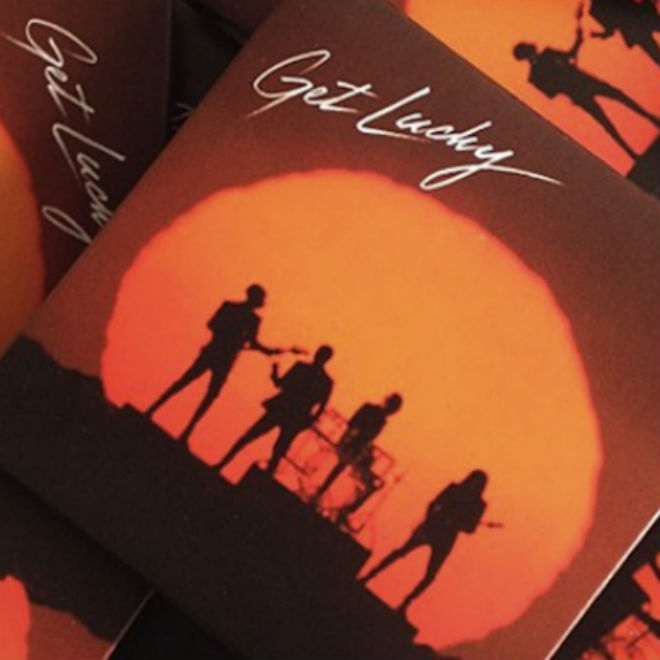 """UPDATE: Daft Punk Are """"Getting Lucky"""" with Condoms"""