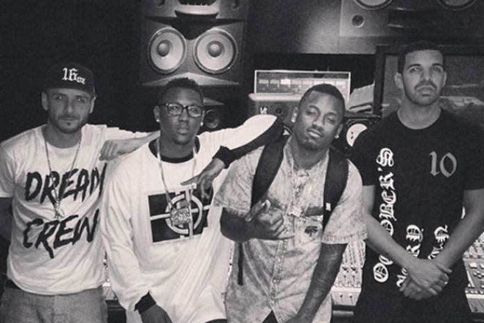 Drake and Hit-Boy Hit the Studio Together