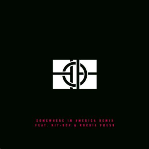 Hit-Boy featuring Rockie Fresh - SomeWhereInAmerica (Remix)