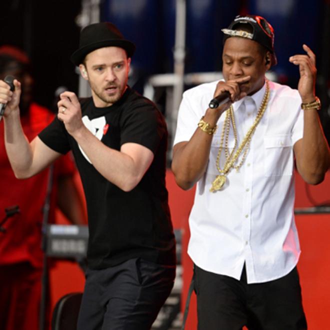 Jay-Z, Justin Timberlake & Rihanna Perform in London