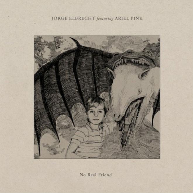 Jorge Elbrecht featuring Ariel Pink - No Real Friend