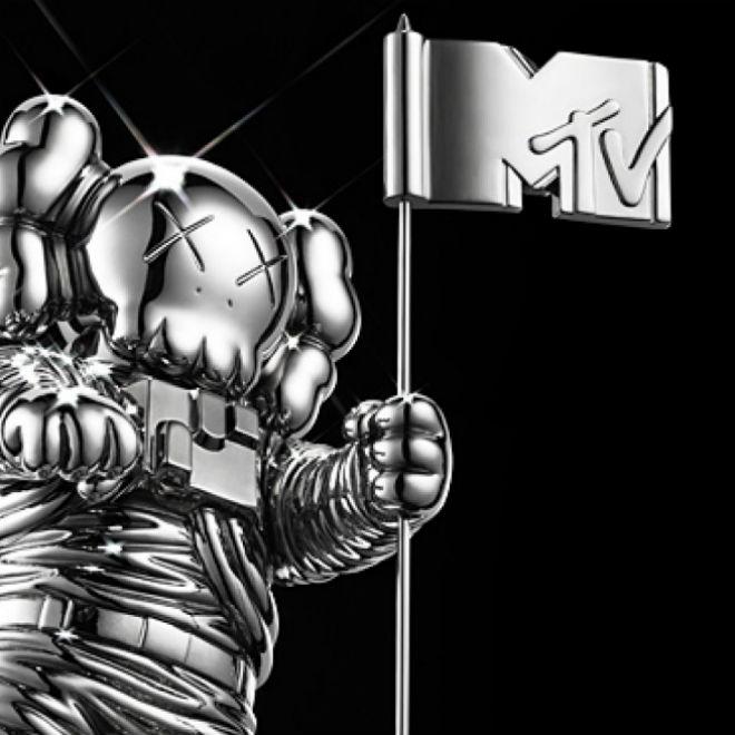 KAWS Redesigns MTV VMA Moonman